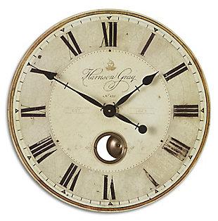"Uttermost Harrison Gray 23"" Clock, , large"