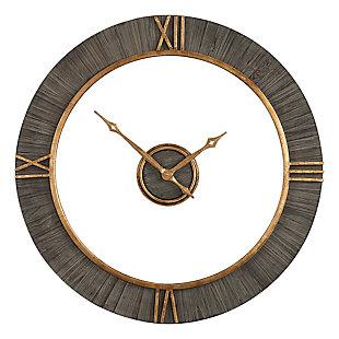 Uttermost Alphonzo Modern Wall Clock, , large