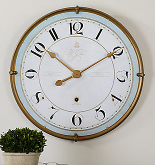 Uttermost Torriana Wall Clock, , rollover