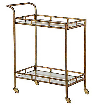 Home Accents Esther Bar Cart, , large