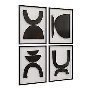 Gild Design House Joelle Large Wall Decor (Set of 4), , large