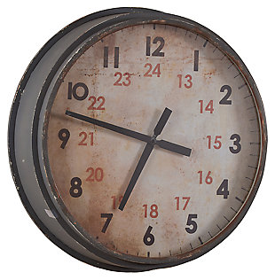 Home Accents Industrial Clock, , large