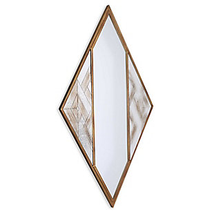 Gild Design House Selles Metal Wall Mirror, , large