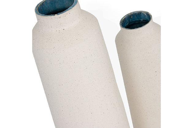 Jasper Large Ceramic Floor Vase, , large