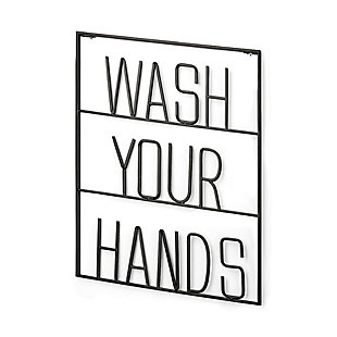 Wash Your Hands Sign, , large