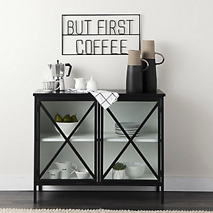 """But First Coffee 26""""L x 13""""H Sign, , rollover"""