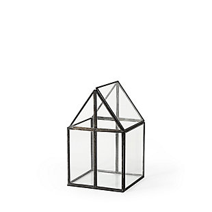 Sikes Small Glass Terrarium, , large