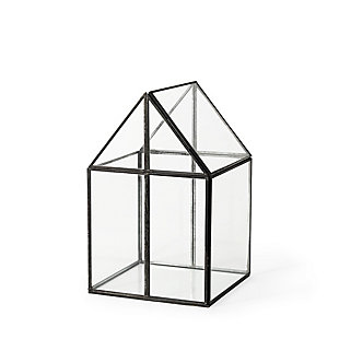 Sikes Medium Glass Terrarium, , large