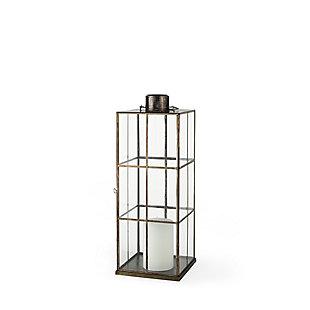 Grimwig Medium Gold Glass Lantern, , large