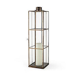 Grimwig Large Gold Glass Lantern, , large