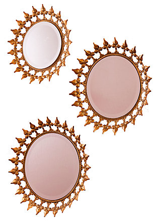 Home Accents Prinz Mirror (Set of 3), , large