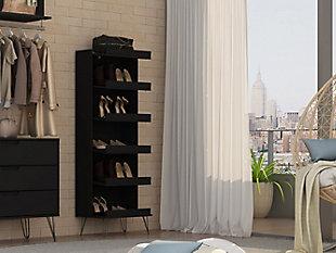 Manhattan Comfort Rockefeller Shoe Storage Rack, , large
