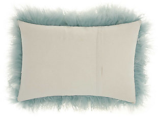 Modern Tibetan Sheepskin Fur Coutoure Pillow, , large