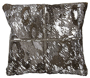 Modern Floral Laser Cut Couture Pillow, , large