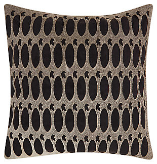 Modern Rabbit Holes Pillow, , large
