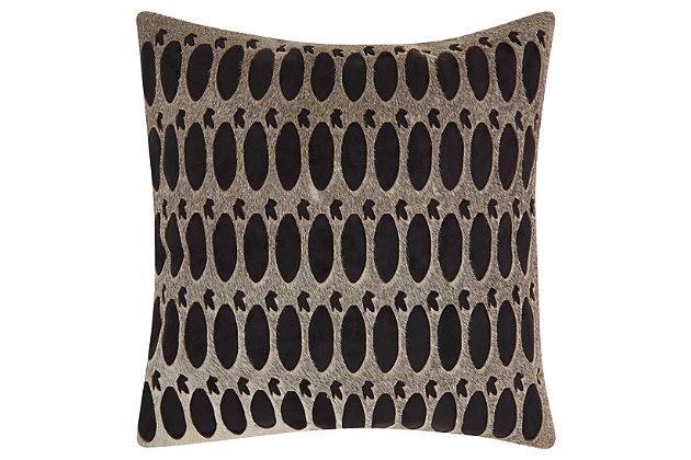 Modern Rabbit Holes Pillow, , large