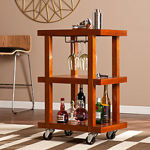SEI Covina Chic Bar Cart, , large