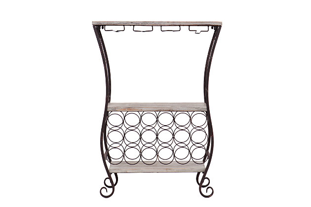 Jay Wine Storage Table, , large