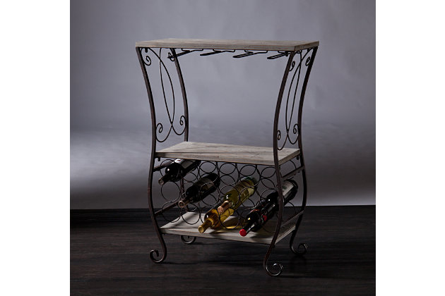 SEI Wine Storage Table, , large