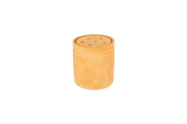 Clay Canister Stem Holder, , large