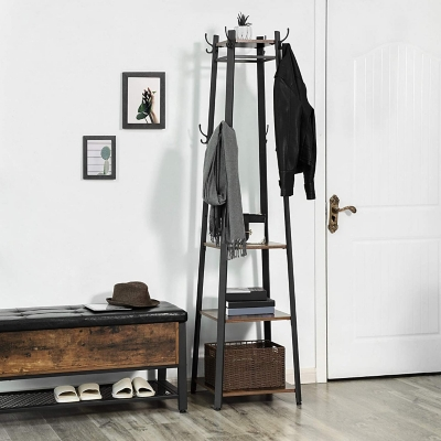 Vasagle Industrial Coat Rack, , large