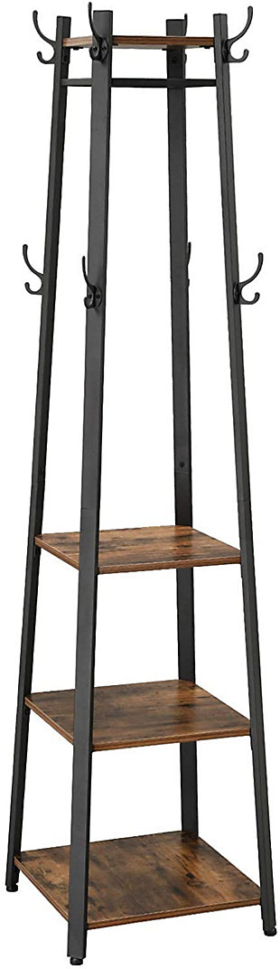 Vasagle Industrial Coat Rack, , large