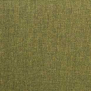 Rockwell Mid-Century Modern Accent Chair in Brown Wood and Green Fabric, , large