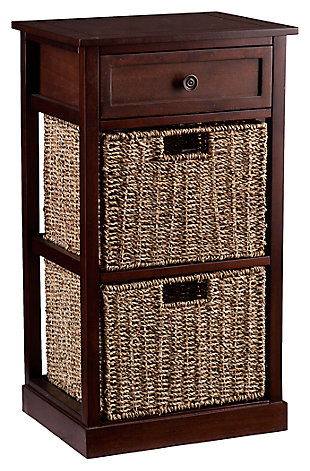 Kenton 2-Basket Storage Shelf, , large