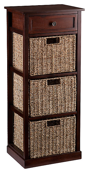 Kenton 3-Basket Storage Tower, , large