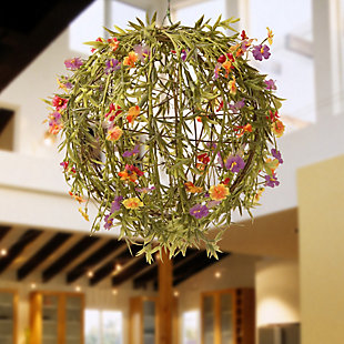 National Tree Company Garden Accents Flower Ball, , rollover