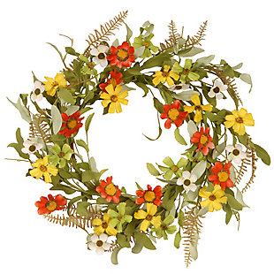 National Tree Company Garden Accents Sunflower Wreath, , large