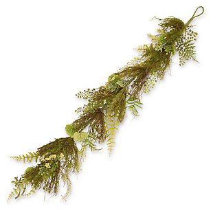 National Tree Company Garden Accents Fern and Lavender Garland, , large