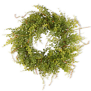 National Tree Company Garden Accents Boxwood Berry Wreath, , large