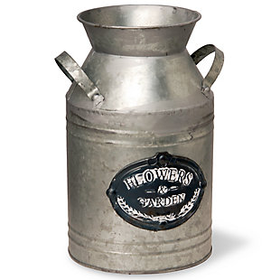 National Tree Company Garden Accents Antique Milk Can, , large