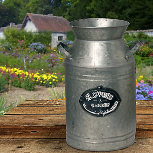 National Tree Company Garden Accents Antique Milk Can, , rollover