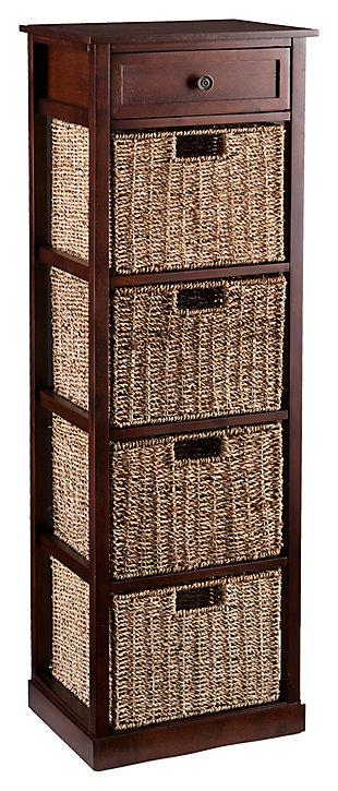 Kenton 4-Basket Storage Tower, , large