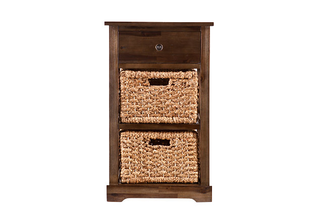 Jayton 2-Basket Storage Shelf, , large