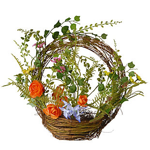 National Tree Company Spring Ring Basket, , large