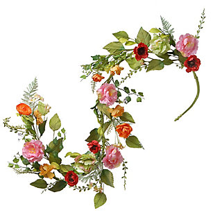 National Tree Company Ft. Spring Flower Garland, , large