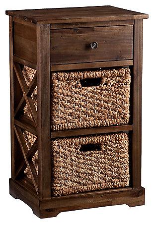 Jayton 2-Basket Storage Shelf, , large