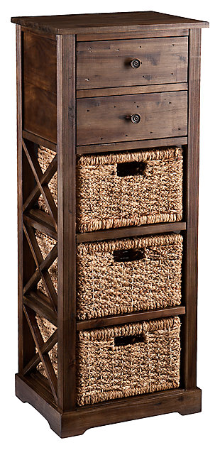 Jayton 3-Basket Storage Tower, , large