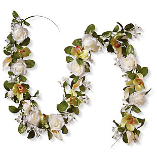 National Tree Company Spring Flowers Garland, , large
