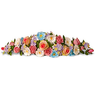 National Tree Company Spring Flowers Swag, , large