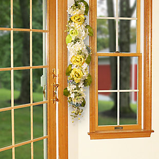 National Tree Company Spring Flowers Garland, , rollover