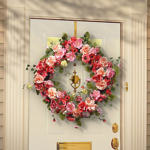 National Tree Company Spring Wreath, , rollover