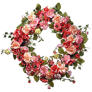 National Tree Company Spring Wreath, , large