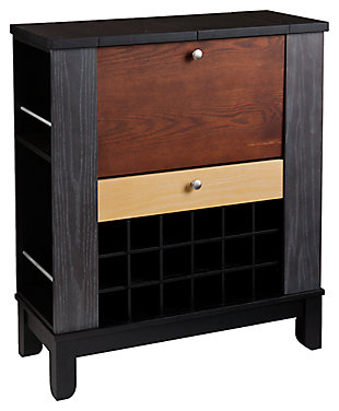 SEI Warren Wine/Bar Cabinet, , large