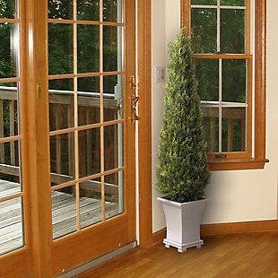 National Tree Company Upright Juniper Tree, , rollover