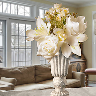 National Tree Company Cream Magnolia Bundle, , rollover