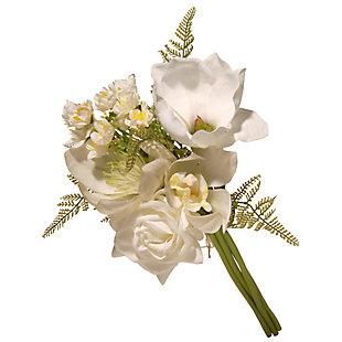 National Tree Company Cream Magnolia Bundle, , large